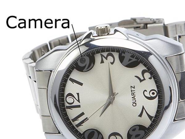 Скрытая камера в часах