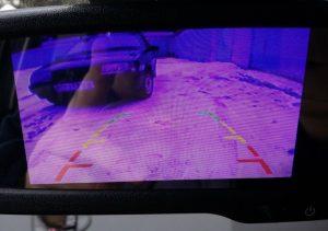 Изображение камеры заднего вида