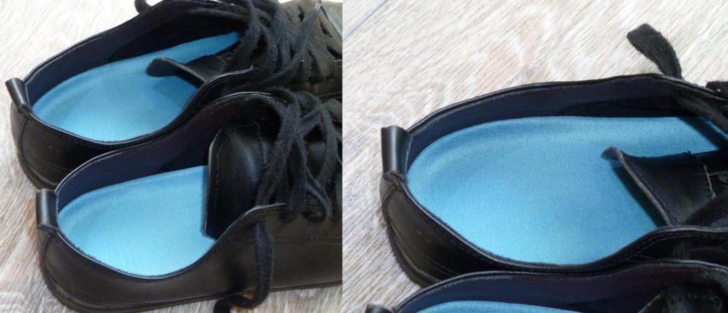Гелевые стельки ELEFT в ботинке